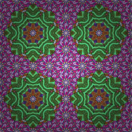 Unusual flower shape oriental line. Anti-stress therapy pattern. Weave design element. Vector outline Mandala on background. Yoga logo, background for meditation poster. Decorative round ornament. Illustration
