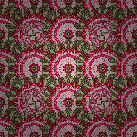 admirable: Indian flower mandala. Colorful mandala. Anti-stress mandala. Decorative colored round ornament. Oriental flourish vector. Yoga background for meditation poster.
