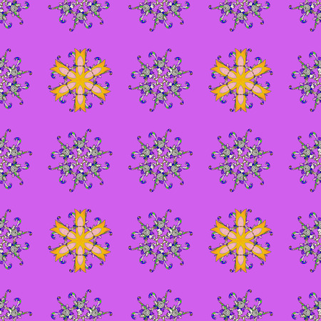 nobby: Floral seamless pattern with bright summer flowers in colors. Endless vector texture for romantic design, decoration, greeting cards, posters, wrapping, for textile print and fabric.