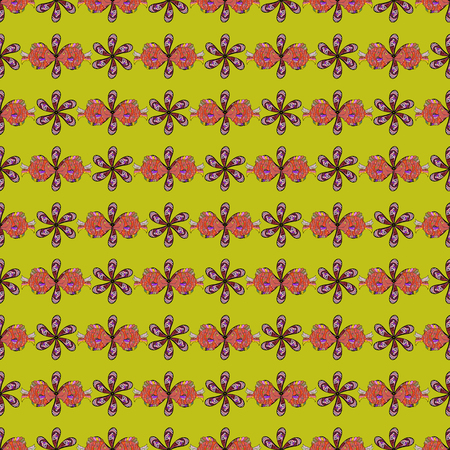 nobby: Seamless pattern with floral motif.