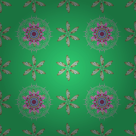 nobby: Seamless pattern with flowers on motley background. Vector illustration of flowers.