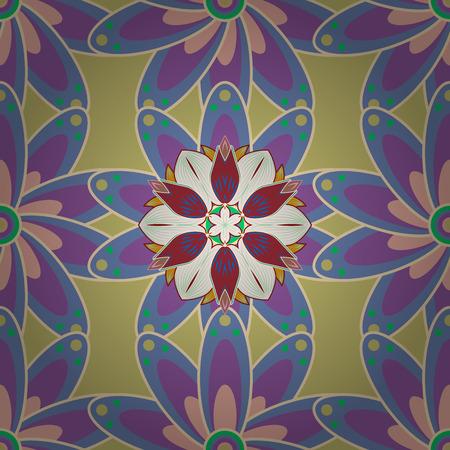 화려한 배경 손으로 그린 된 스케치입니다. 빈티지 장식 요소입니다. 직물 또는 종이에 인쇄하기에 적합합니다. 이슬람교, 아랍어, 인디언, 오토만 주 일러스트