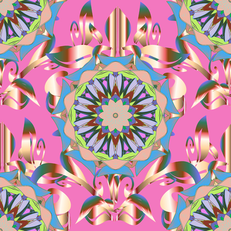admirable: Islam, Arabic, Indian, Turkish, Pakistan. Decorative Indian Round Mandala on background. Christmas Card Mandala Design. Vintage pattern. Invitation Card, Scrapbooking. Colored over.
