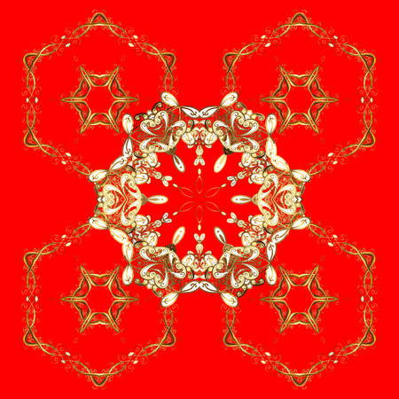 364 minion stock illustrations cliparts and royalty free minion vectors vector illustration snowflake frame christmas frame with abstract golden snowflakes and dots on red stopboris Gallery