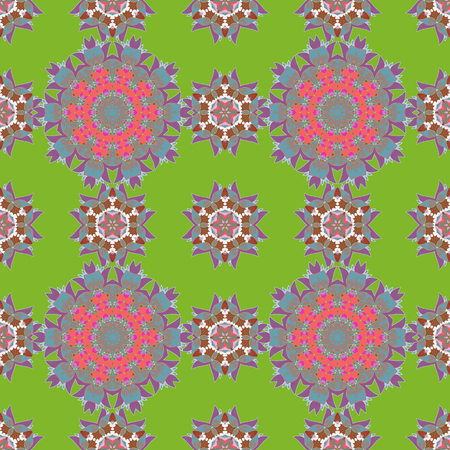 Spring floral background with pink flowers. Small colorful flowers. Vector cute pattern in small flower. Motley illustration. The elegant the template for fashion prints. 向量圖像