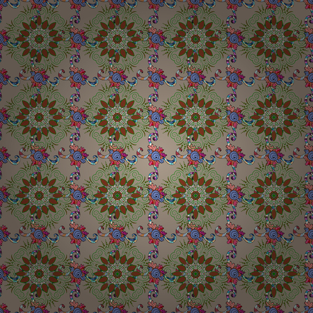 delectable: Spring floral background with flowers. The elegant the template for fashion prints. Motley illustration. Vector cute pattern in small flower. Small colorful flowers.