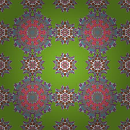 Eindeloze vector textuur voor romantisch ontwerp, decoratie, wenskaarten, posters, wrapping, voor textieldruk en stof. Bloemen naadloos patroon met lichte zomerbloemen in kleuren.