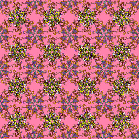 Abstract ethnic pattern.