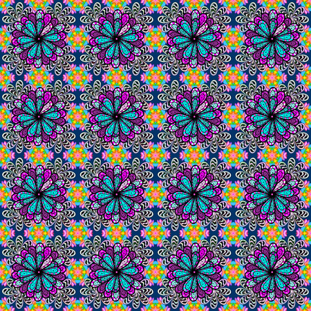 lay: Leaf natural pattern in colors. Vector flower concept. Summer design. Seamless floral pattern can be used for sketch, website background, wrapping paper.