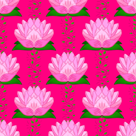 Seamless floral pattern. Vector abstract floral background. Seamless pattern with many small flowers. Çizim