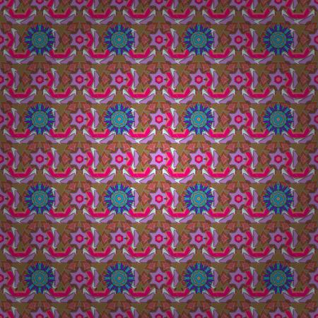 kundalini: Geometric circle vector element. Tribal, Boho, Bohemian style. Ornament colored card with mandala. Kaleidoscope, medallion, yoga, india, arabic.
