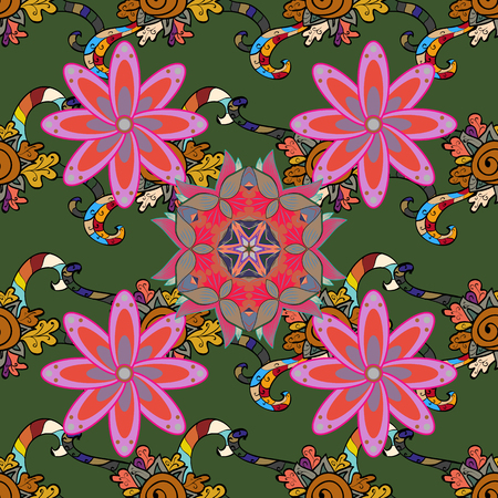 admirable: Small colorful flowers. The elegant the template for fashion prints. Vector cute pattern in small flower. Motley illustration. Spring floral background with flowers.