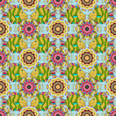 Spring floral background with flowers. Motley illustration. Small colorful flowers. Vector cute pattern in small flower. The elegant the template for fashion prints.