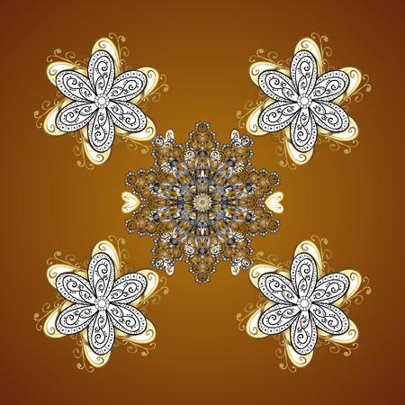 Vector gradient premium. Flower on. Business identity concept for bio, eco company, yoga or spa salon. Mandala. Illustration
