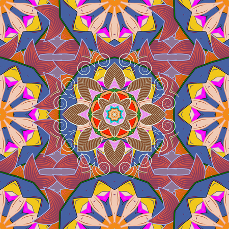 motley: flowers. Vector pattern. Nature. Floral collage. Floral background. Nice pattern in the small flower. Flower composition. Illustration