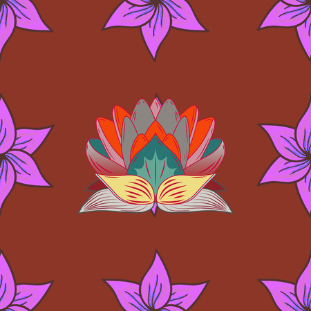 Vector Henna tattoo style. Ethnic Mandala ornament. Can be used for textile, greeting card, coloring book, phone case print. Indian floral paisley medallion pattern.