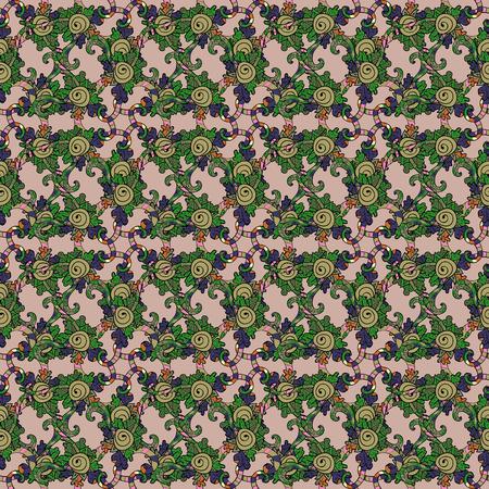 luster: Vector gradient premium Flower. Business identity concept for bio, eco company, yoga or spa salon. Mandala Illustration