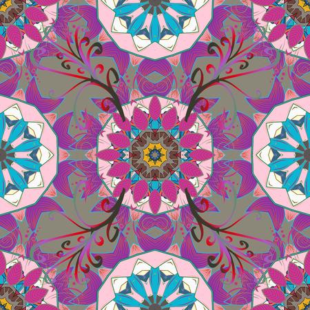 linearity: Mandala Vector gradient premium. Business identity concept for bio, eco company, yoga or spa salon. Flower on.
