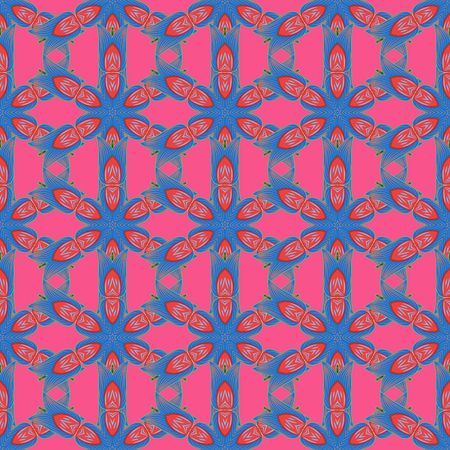 Seamless pattern with vector on a colorful background. For wrap, sketchs, backgrounds and scrapbooks. For Merry Christmas, Happy New Year products.