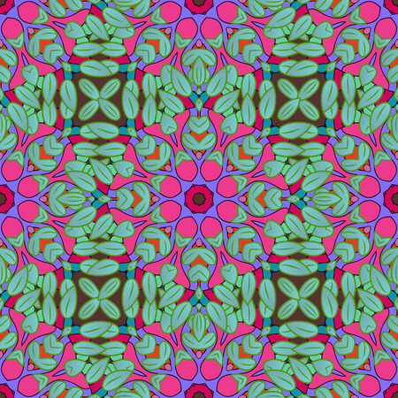 oriental bathrobe: Islam, Arabic, Indian, turkish, pakistan, chinese, ottoman motifs. Oriental pattern. Vintage vector decorative elements. Colored Mandalas on colorful background.