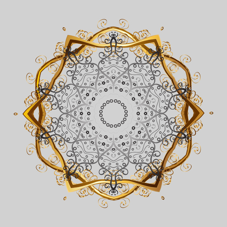Christmas snowflake Vector illustration