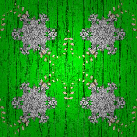 Vector illustration. Decorative symmetry arabesque. Pattern medieval floral royal pattern.