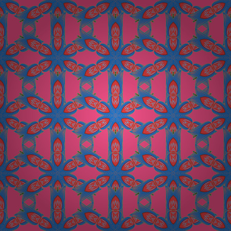 hand print: Decorative vector ornate colored mandala icon isolated for card, colored Mandala on a pink background. For invitation card, scrapbook, banner, postcard, tattoo, yoga, boho, magic, carpet, tile or lace Illustration