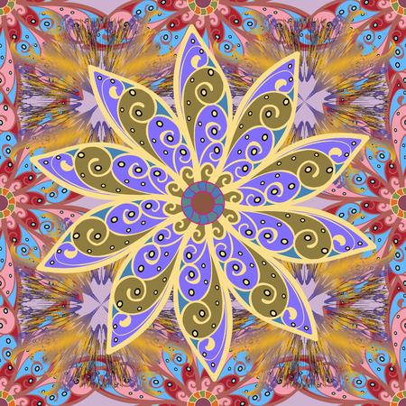 astratto immagine colorata