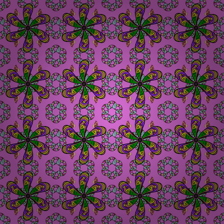 simple: Floral background. Seamless vector pattern. Nice fabric pattern.