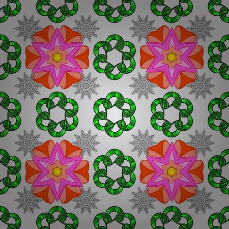 motley: Textile print design fashion concept.