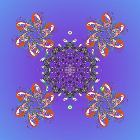 Abstract floral or mandala pattern Illustration