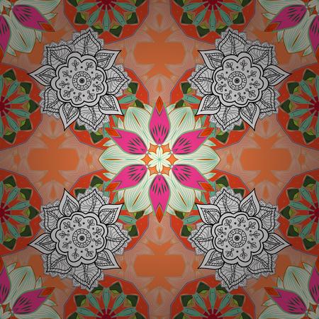 Vintage floral pattern.