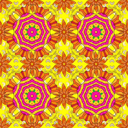 patten: Border Indian floral Paisley patten. Ethnic Mandala towel. Can be used for greeting business card background, coloring book, backdrop, textile. Vector Henna style. Seamless ornament print.