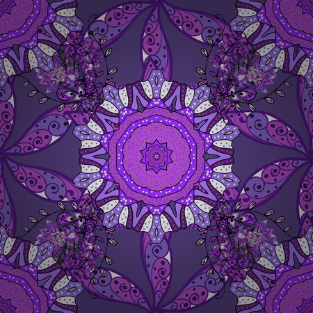 Vector Stylish fabric pattern. Flowers watercolor seamless pattern.