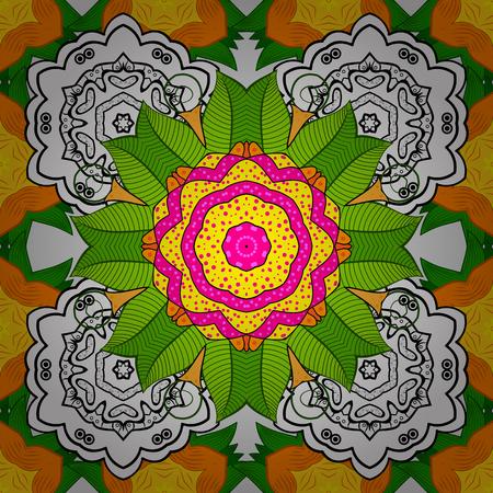 Cute Floral pattern vector illustration. Illustration