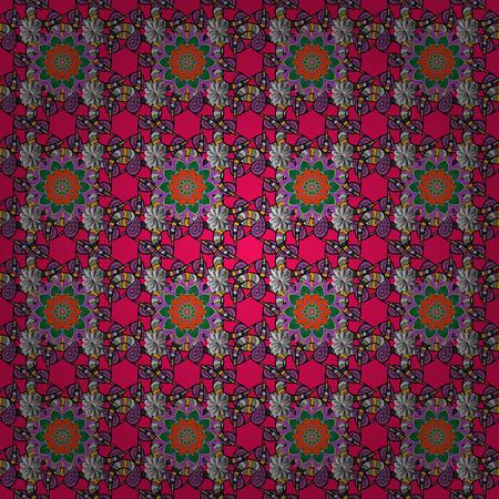 Gentle romantic print. Vector seamless cute flower pattern. Holidays mood. Spring summer time. Illustration