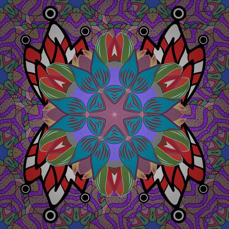 Floral sweet textile pattern