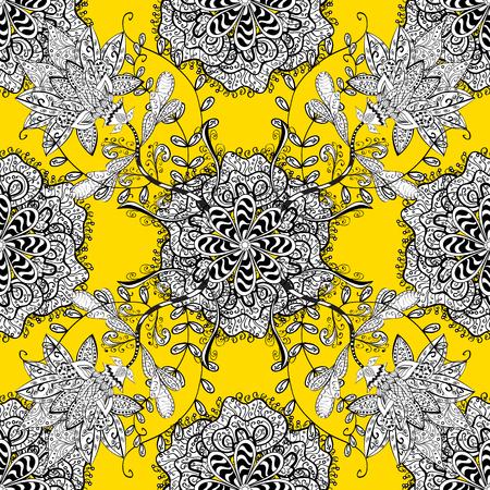Oriental flourish vector. Decorative colored round ornament. Yoga  background for meditation poster. Anti-stress mandala. Indian flower mandala. Colorful mandala.