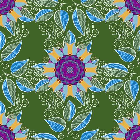 Bohemian decorative element isolated on plain background. Çizim