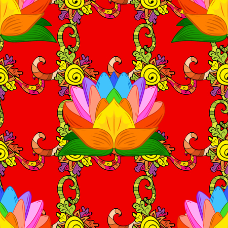 abstract colors picture Illustration