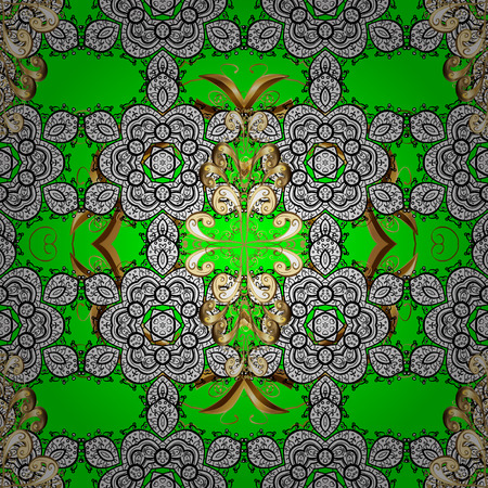 Traditional oriental ornament pattern