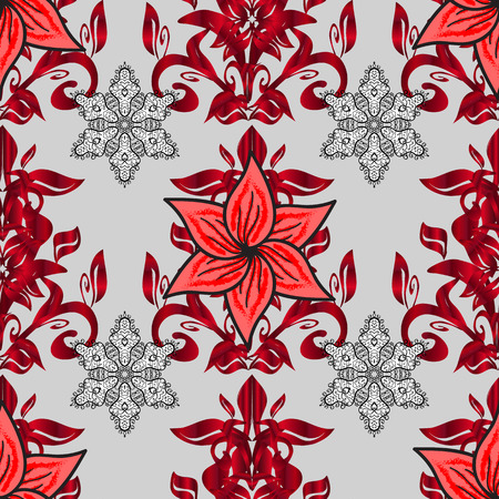 Flower Elements Design pattern Illustration