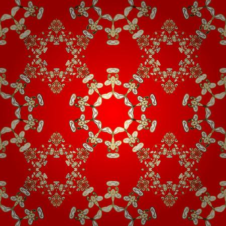 Vector illustration. Abstract motif background. Ultrafashionable fabric pattern.