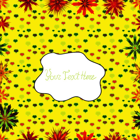 Seamless flower pattern can be used for wallpaper, website background, wrapping paper, invitation, flyer, banner or website. Hand drawn Vector illustration. Of doodle elements.