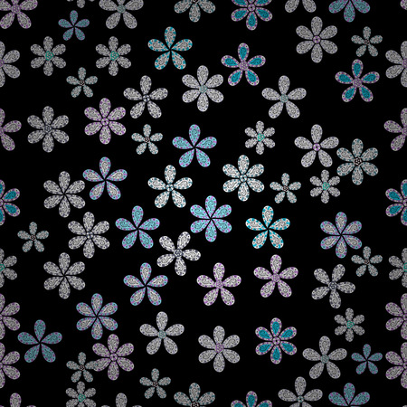 It can be used on mug prints, baby apparels, wallpaper, wrapping boxes etc. Elegant, bright and seamless black, white and neutral flower pattern design. Illustration