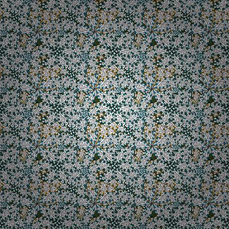 Abstract motif background. Seamless pattern. Ultrafashionable fabric pattern. Vector illustration. Vetores