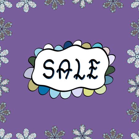 Sale, Give away banner, retail, tag. Marketing campaign sale advert label. Black, white, violet friday sale label. Modern sticker illustration. Vector. Seamless. Grunge pained background, frame border