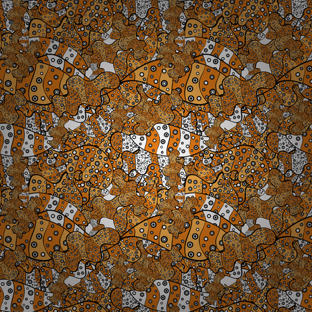 Abstract motif background. Vector illustration. Ultrafashionable fabric pattern. Çizim
