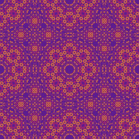 Géométrique tricoté comme un motif sans couture, abstrait coloré, texture. modèle sans couture, abstrait coloré, texture. Vecteurs