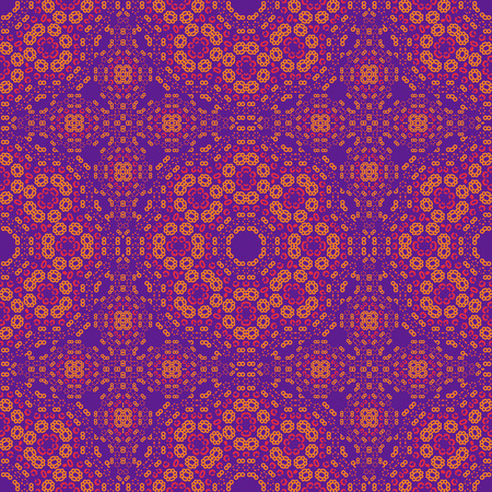 Geometric knitted like seamless pattern, abstract colorful background, texture. seamless pattern, abstract colorful background, texture. Vektorové ilustrace